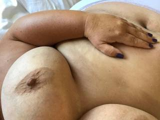 She needs cum all over her big tits
