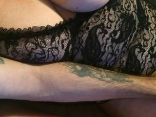 I love the mrs getting her tits out on zoig cam