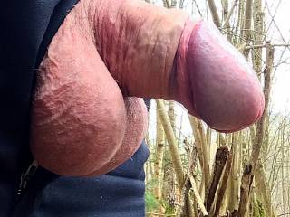 You like the shape of my cockhead and my balls? ;-)