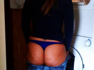 Sexy ass showing off.