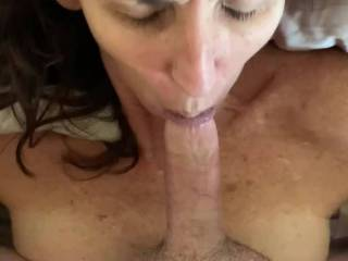 I wanted to experience fucking her and also having her suck my cock. It is a great feeling and view to feel and watch her getting fucked and then suck my cock!