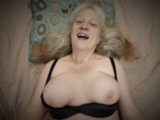 I am so excited that you want to fuck my married large tits. Make sure to cum all over them!
