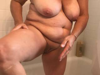 anyone wanna fuck my chubby exposed slut
