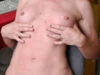 Tiny tits do you like what you see?