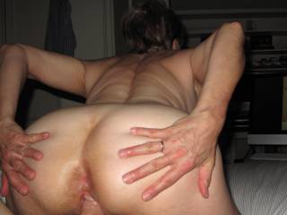 SEX SATURDAY! Just looking at pics on the computer. She tells me when to stop the pics and then start to talk about each cock and tell me fantasy stories. She want me to watch and see if her ass pucker and pussy quivers when she comes. Makes me come!