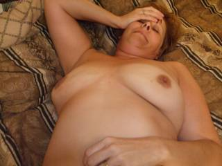 Wife is wore out after she suck our cocks and we fucked her 5 times between us two so exciting!