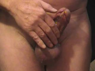 Very Nice cock and balls and a Great cum shot ! ! !