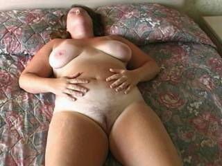 Sweet tits...love to come over and play with her