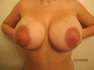 MMMMMMMMMMM  MMMMMMMM I would love to slide my THROBBING HARD COCK between your BEAUTIFUL TITTIES anytime SEXY!!! Your man is soooooooooooooooooooo FLIPPIN LUCKY!!!