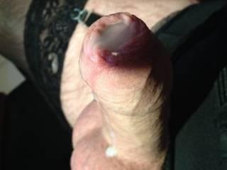 cumming in my stockings x