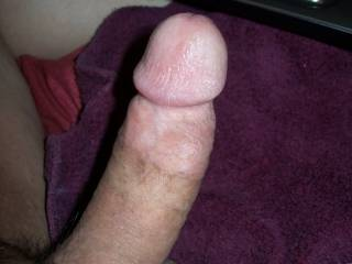 Really wish somebody was either sucking or sitting on this cock