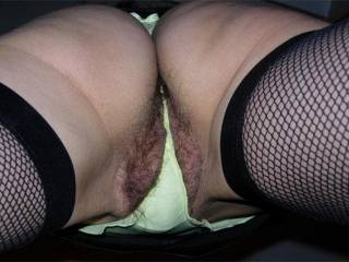 yes i love it! love the thong with your hairy pussy.mmm can almost taste it