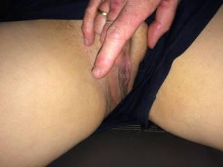 wet in her panties