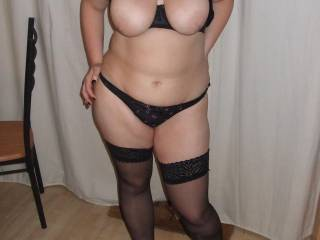 Would you cum all over my big juicy tits?