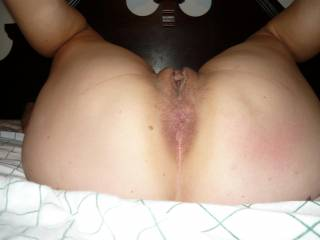 I could lick your ass all night long, what a great view of the perfect 40 something butt!