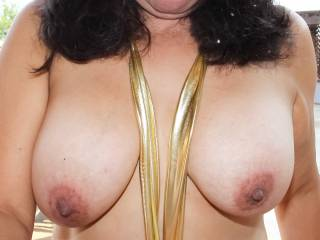 I was sucking hubby's cock outside on the back porch and got a mouthful of cum.  I got some cum in my hair and some was coating my lips, but I think I did a good job of swallowing most of it.