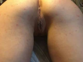 Texas tattooed teacher shows off her sweet pussy and ass