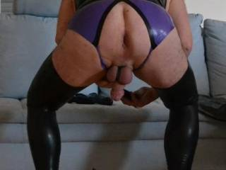 My Lady was not at home so I prepare to play with my new pump plug