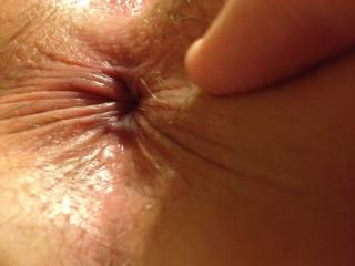 Ever put your tongue in that sweet little puckered hole?