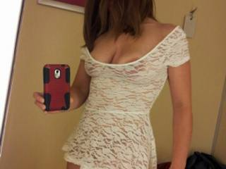 She picked up a new outfit for playing on cam today.  Be sure and watch for her in it!