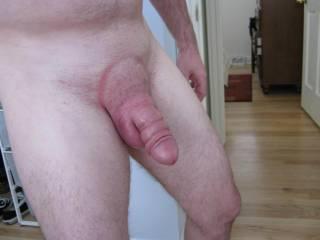 Big puffy cock and balls do you like?