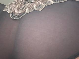 See through black panties . Bought them in rochdale Lancashire