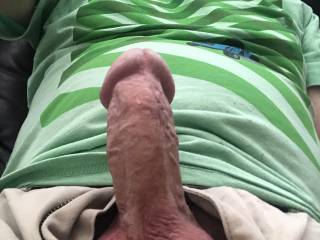 Just got an incredibly sexy message from one of my favorite Zoig friends. Her messsages never fail to get my old cock hard as a rock. Wish she could have been here to use it properly 😈