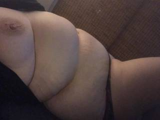 Think about shooting a load all over my sexy belly.