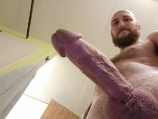 I want you to feel the bulging viens inside you and cream all over my long hard cock