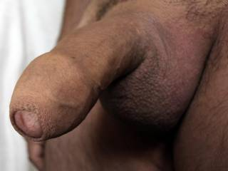 Honey you know this lovely uncut cock turns me on. I wish you were mine!! Hugs & wet kisses to you. xoxo