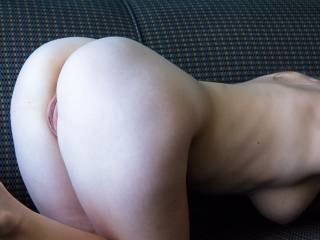 I'd love to take that sweet looking ass and slide it around my throbing cock.
