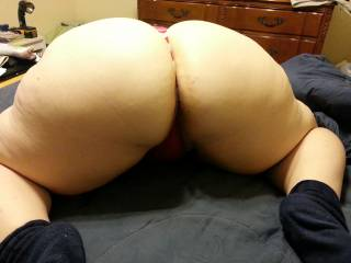 Her ass could drain both hubby's and my cock and probably still want more loads shot on it!