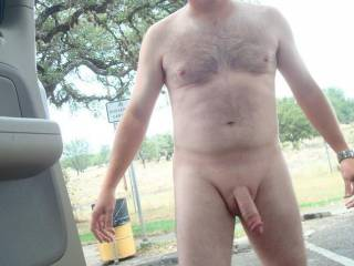 Just love being bollock naked outdoors and wanking especially if some older women happen to walk by as I am shooting my load; there is no other feeling quite like it !!!