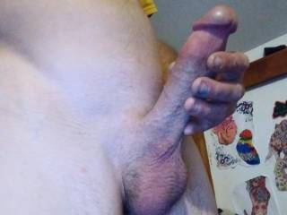 I'm always asking my man to jerk his cock off. It gets my pussy so wet