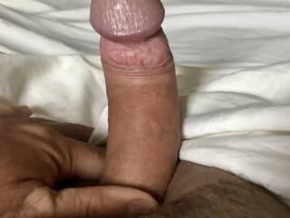 Morning Rise, Rock Hard after dreaming many fantasies! A morning stroking and pulling my cock viewing all my sexy friends profile pics n vids on Zoig! Thought it only fare to share some pictures from various views and states of play! Enjoy them 😍