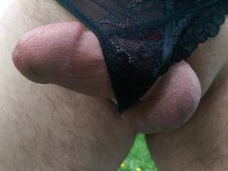 Love this little black G but it can\'t control a raging cock.