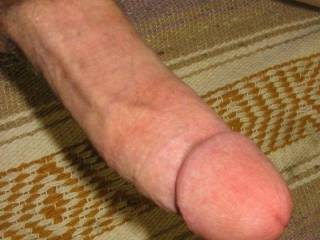 Here's my long & thick cock so who wants a taste of it??