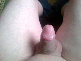 I have just shaved all my body hair off as you can see by my cock