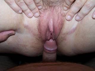 Nice cock head man shove it in hard. thnx