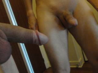 i am a lucky woman, i love his cock....