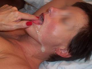 cock sucking cum swallowers are a rare treat especially when they want to have you wash off the cum that missed their mouths with your warm other golden liquid! always leave some for them to swallow so they can wash any stray cum into their warm bellies.  ;-)