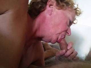 I like her and I dream to be with you and see her sucking our cocks and ear heir comments about my small cock