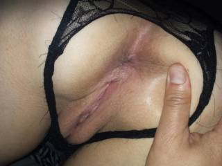 I\'d love to feel your tongue or your dick in my ass!