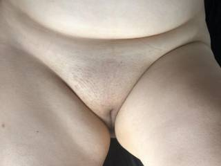 A little trimmed pussy