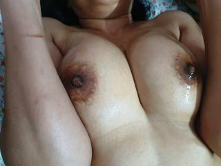One of our Asian friend was on top of my horny wife and fucking her very hard.She was in compromising position moaning and enjoying his thick long cock\'s deep thirsts. What do you think ???