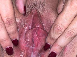 A Zoig friend filled her pussy with cum today.