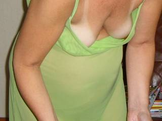 Wife and her little tits...................
