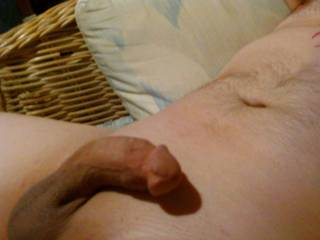 you have a very nice cock....like the smooth look too!