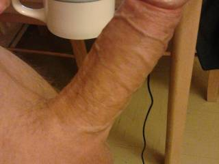 """mrs here...well that's a funny nickname for your hot cock, i'll have all the """"coffee"""" you got and whatever is in that mug ;-)"""