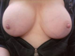 What a fantastic set of tits, the wife says she would love to suck them with a little ice in her mouth and I would certainly love to tit fuck those beautiful orbs of perfection